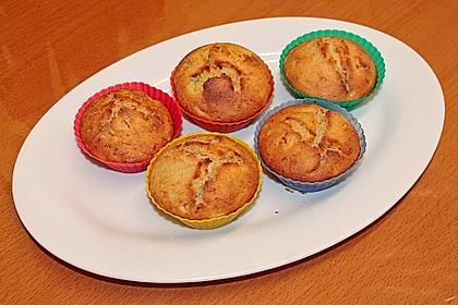 Zucchini Muffins mit saurer Sahne 36