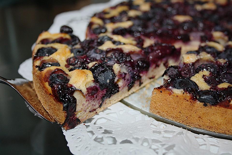 Chrissis Heidelbeer Buttermilch Kuchen Von Chrissi09 Chefkoch De