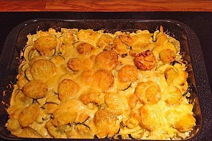 Kartoffel-Blumenkohl-Auflauf