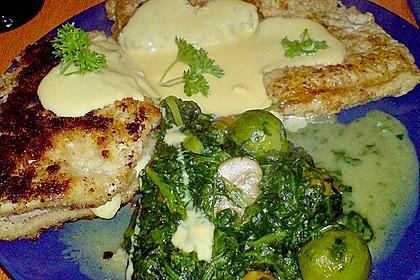 Hähnchen Cordon Bleu mit Kartoffeln mediterrane Art und frischem Salat 4