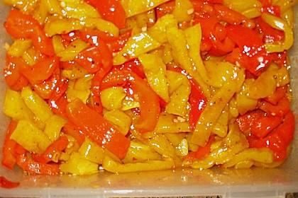 Dieters eingelegte Paprika