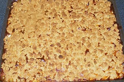 Apfel - Nuss - Streusel mit Quarkcreme 13