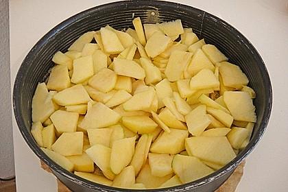 Apfel - Nuss - Streusel mit Quarkcreme 22