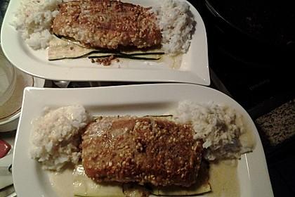 Fisch im Nussmantel 3