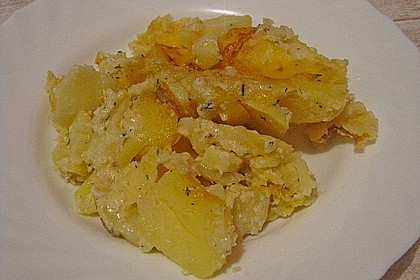 Kartoffelgratin 187