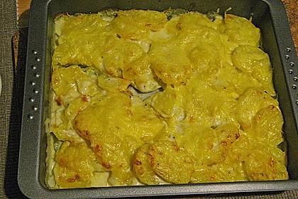 Kartoffelgratin 167