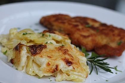 Kartoffelgratin 13