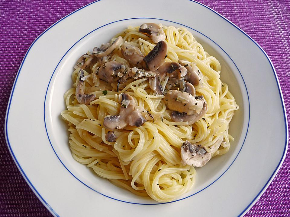 Champignon - Spaghetti