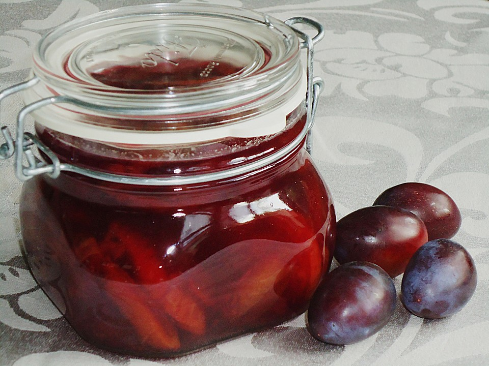 Eingelegte Zwetschgen In Rotwein Von Elli4u Chefkoch