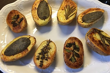 Ofenkartoffeln mit frischen Kräutern 40