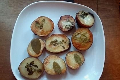 Ofenkartoffeln mit frischen Kräutern 11