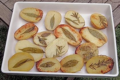 Ofenkartoffeln mit frischen Kräutern 32