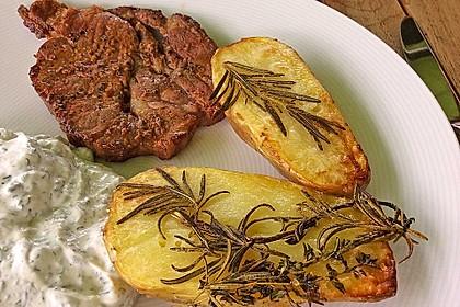 Ofenkartoffeln mit frischen Kräutern 20
