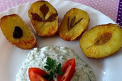 Ofenkartoffeln mit frischen Kräutern 10