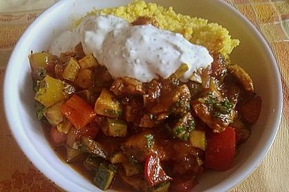Couscous mit sommerlichem Gemüse 2