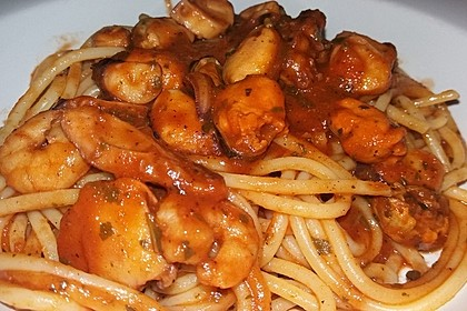 Spaghetti Frutti di Mare 6