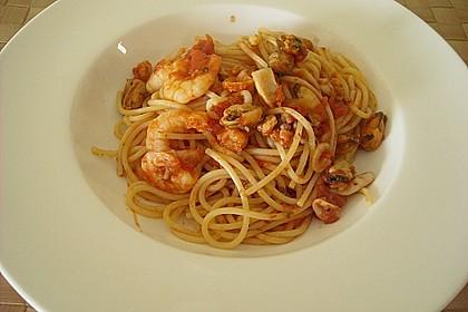 Spaghetti Frutti di Mare 12