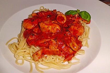 Spaghetti Frutti di Mare 22