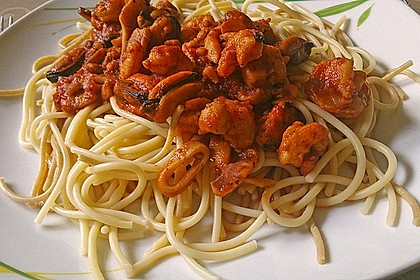 Spaghetti Frutti di Mare 16