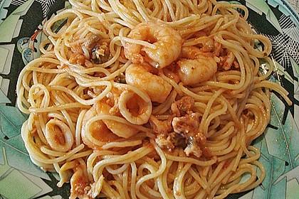 Spaghetti Frutti di Mare 20