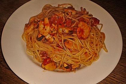 Spaghetti Frutti di Mare 13