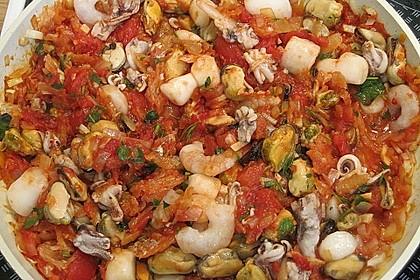 Spaghetti Frutti di Mare 5