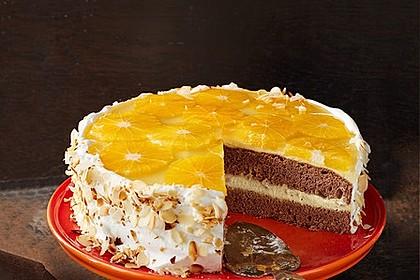 Orangen Schoko Torte Von Wuschel27 Chefkoch De