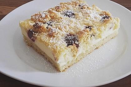 Schneller Quark Streuselkuchen Mit Obst Von Lametti Chefkoch De