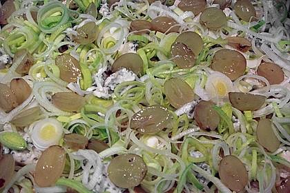 Gorgonzola - Trauben - Kuchen 2