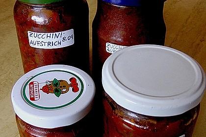 Zucchini - Aufstrich 4