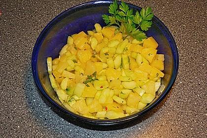 Ananas - Gurken - Salat 6