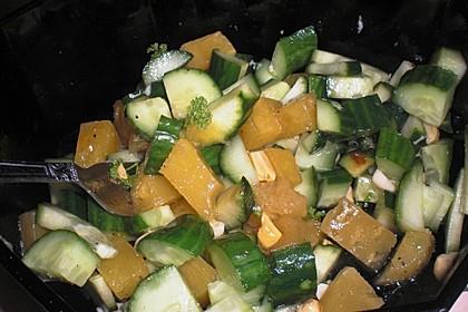 Ananas - Gurken - Salat 3