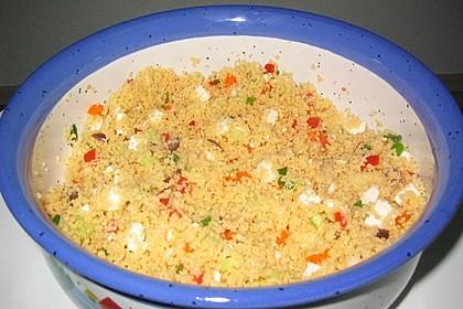 Bunter Couscous - Salat 5