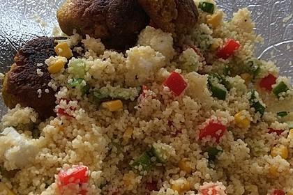 Bunter Couscous - Salat 3