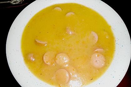 Cremige, aber diättaugliche Kartoffelsuppe mit Thymian und Käse 37