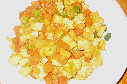 Möhren-Pastinaken-Pfanne mit Hähnchenbrust 8