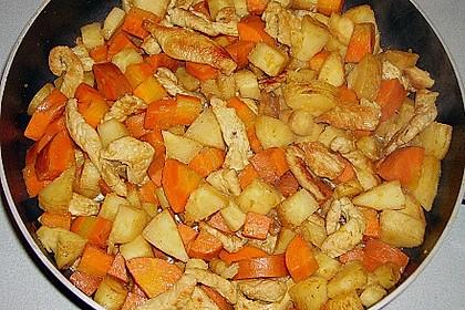 Möhren-Pastinaken-Pfanne mit Hähnchenbrust 4