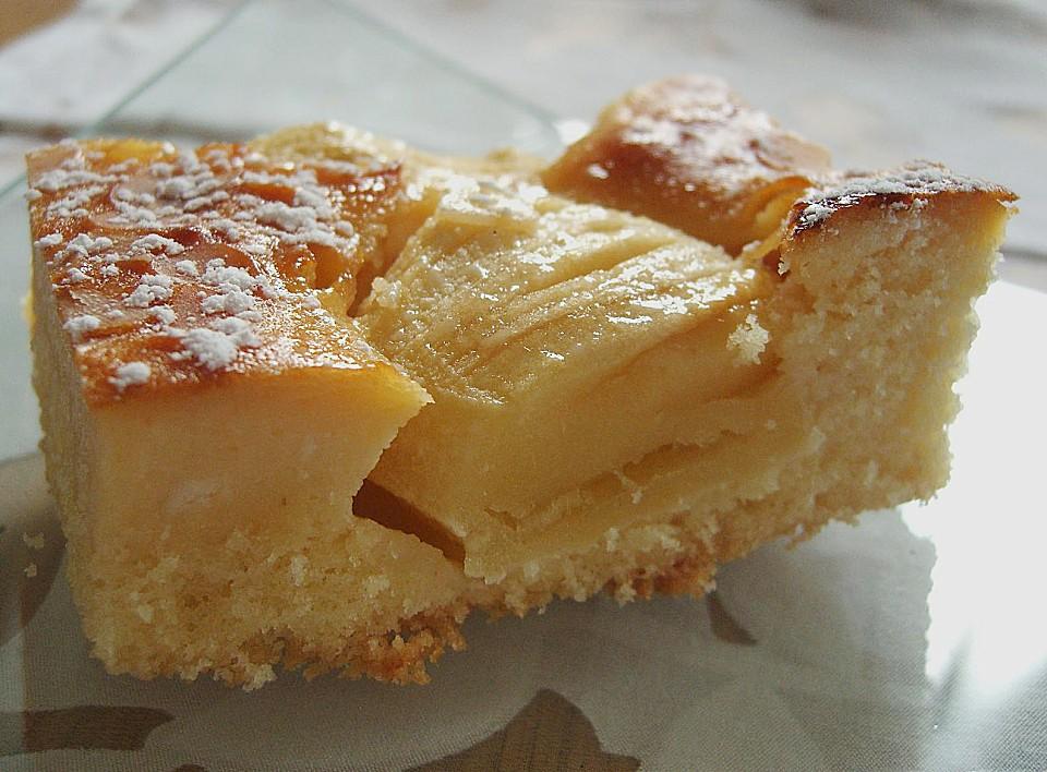 Apfel Marzipan Kuchen Von Angelika1m Chefkoch De