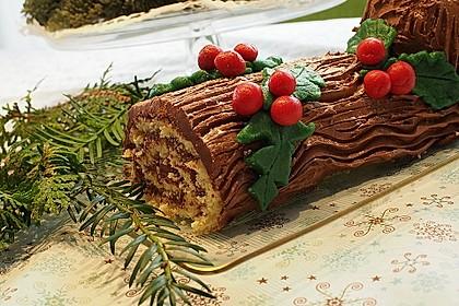 Bûche de Noël (Bild)