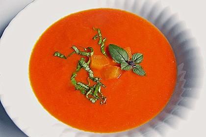 Kalte Tomaten-Apfel Suppe