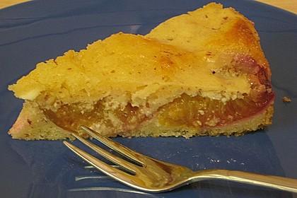 Zwetschgenkuchen mit Sahne - Mandelguss 28