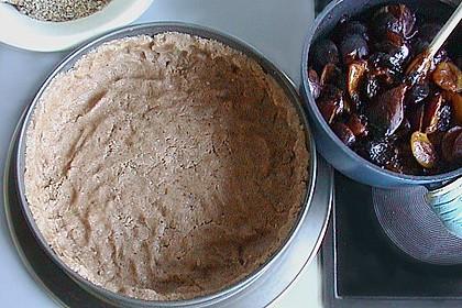 Zwetschgengrütze - Kuchen mit Mandelstreuseln 8