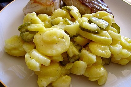Schwäbischer Kartoffelsalat 11