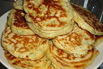 Salmon Herbed Pikelets 1