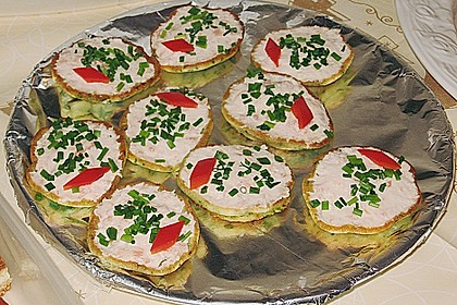 Salmon Herbed Pikelets 2