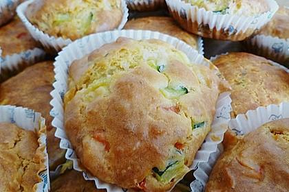Grundrezept für herzhafte Muffins 4
