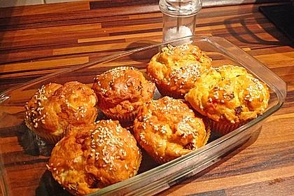Grundrezept für herzhafte Muffins 3