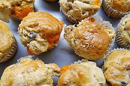 Grundrezept für herzhafte Muffins 15