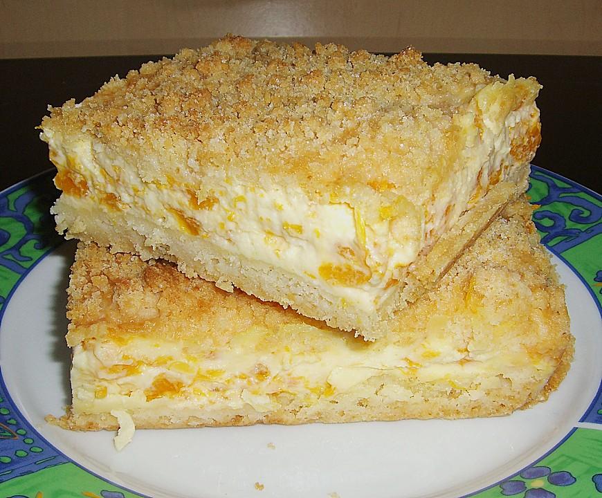 Streuselkuchen Mit Mandarinen Und Schmand Von Siaba Chefkoch De
