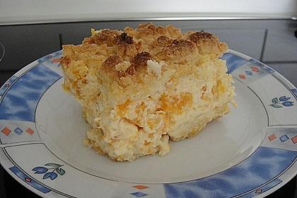 Streuselkuchen mit Mandarinen und Schmand 48